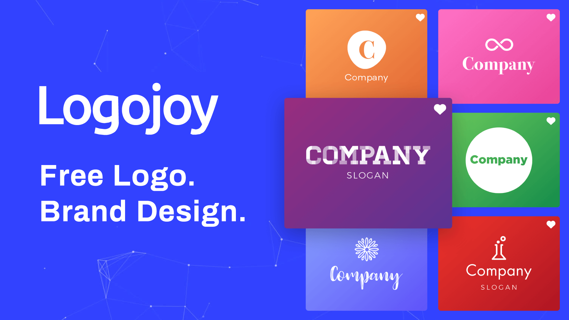 Free logo design on Logojoy