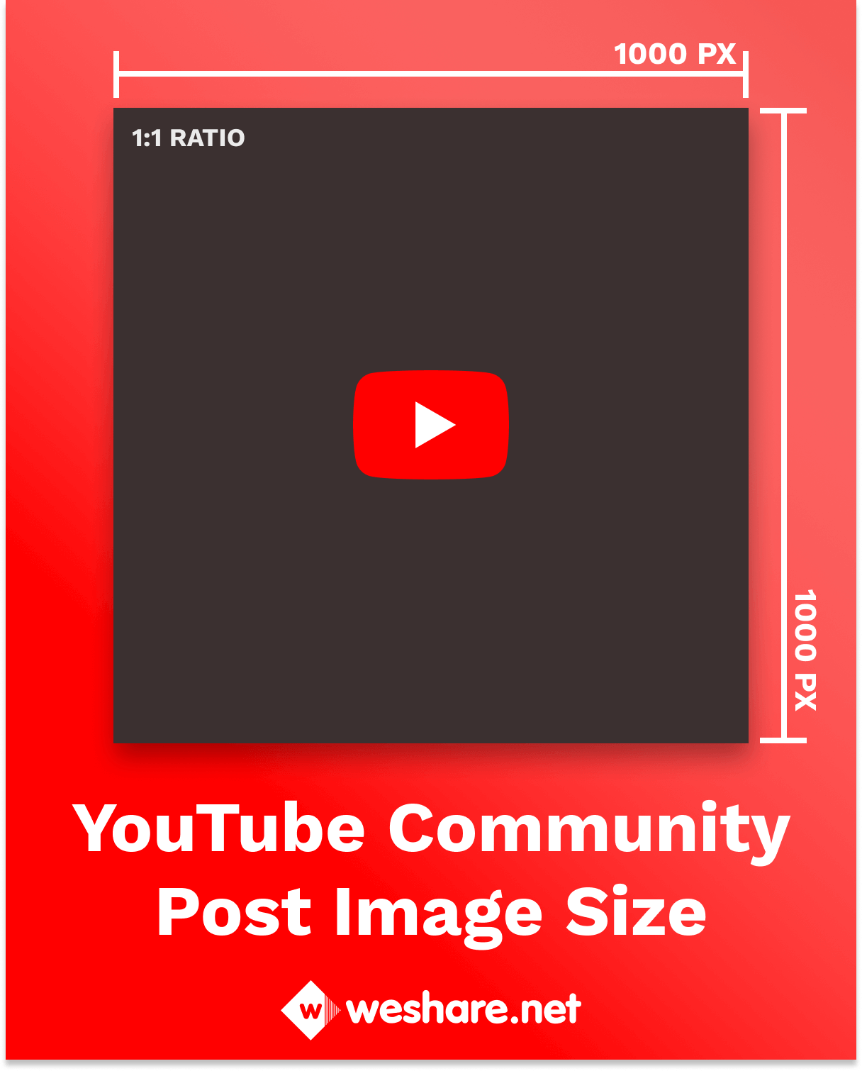 YouTube Community Post Image Size
